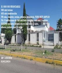 Chihuahua,Chihuahua,México,3 Habitaciones Habitaciones,3 BañosBaños,Casas,2,2898