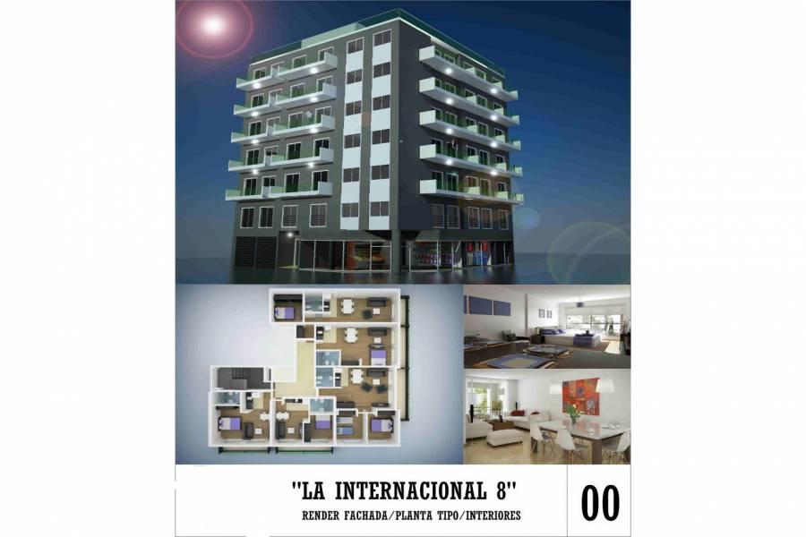 Rosario,Santa Fe,1 Dormitorio Habitaciones,1 BañoBaños,Departamentos,La Internacional 8,San Juan,2,1453