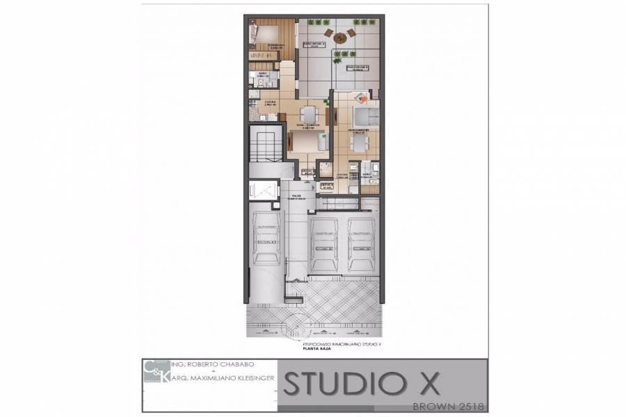 Rosario,Santa Fe,Cocheras,Studio X,Brown,1527