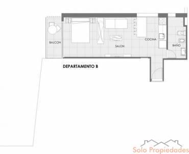 Rosario,Santa Fe,1 Dormitorio Habitaciones,1 BañoBaños,Departamentos,Gandi XXIII,Av. Francia,9,1540
