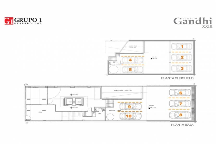 Rosario,Santa Fe,2 Habitaciones Habitaciones,1 BañoBaños,Departamentos,Gandi XXIII,Av. Francia,11,1541