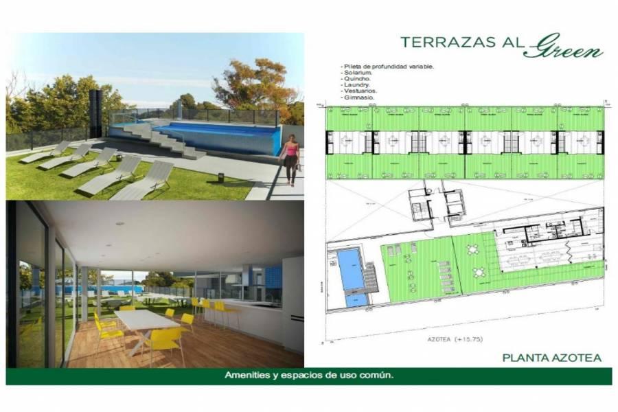 Rosario,Santa Fe,2 Habitaciones Habitaciones,1 BañoBaños,Departamentos,Torre Green,Av. Eva Peron,1548