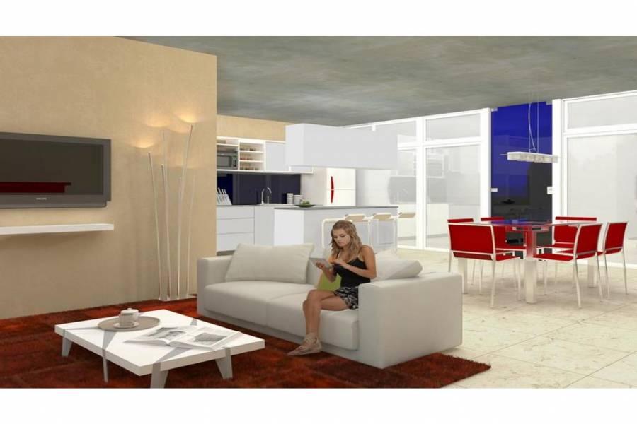 Rosario,Santa Fe,1 Dormitorio Habitaciones,1 BañoBaños,Departamentos,Torre Green Norte,Av. Eva Peron,2,1550