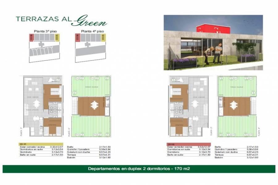 Rosario,Santa Fe,2 Habitaciones Habitaciones,1 BañoBaños,Departamentos,Torre Green Norte,Av. Eva Peron,1,1553