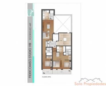 Rosario,Santa Fe,1 Dormitorio Habitaciones,1 BañoBaños,Departamentos,Studio VIII,Rodriguez,2,1583