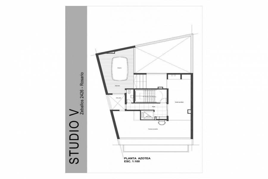 Rosario,Santa Fe,1 Dormitorio Habitaciones,1 BañoBaños,Departamentos,Studio V,Zeballos,1,1586