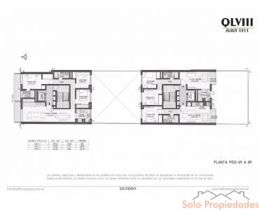 Rosario,Santa Fe,2 Habitaciones Habitaciones,1 BañoBaños,Departamentos,Quadra LVIII,Jujuy,4,1601