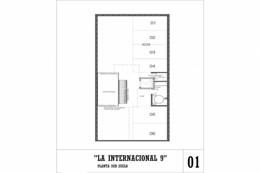 Rosario,Santa Fe,1 Dormitorio Habitaciones,1 BañoBaños,Departamentos,La Internacional 9,Jujuy,1,1617