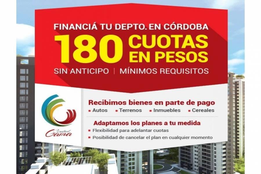 Cordoba,Córdoba,1 Dormitorio Habitaciones,1 BañoBaños,Departamentos,Ciudad Gama,Av. Colon,1630