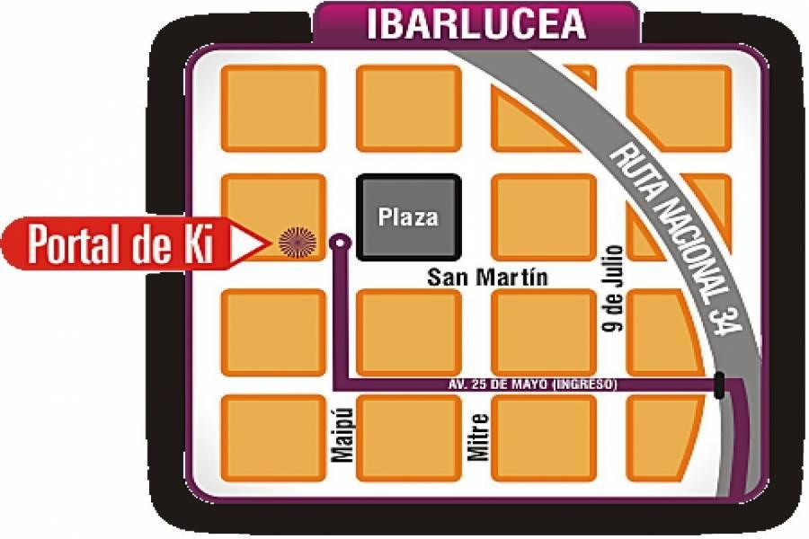 Ibarlucea,Santa Fe,1 Habitación Habitaciones,1 BañoBaños,Locales,Portal de Ki,San Martin ,1647